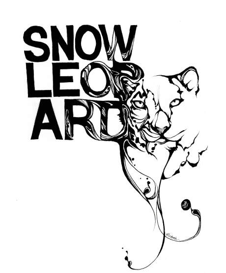 illustration - snowleopard